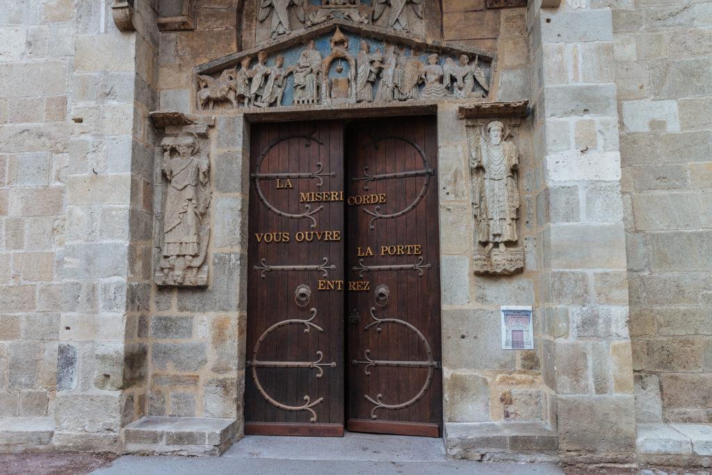 Porte de la Basilique Notre-Dame du Port