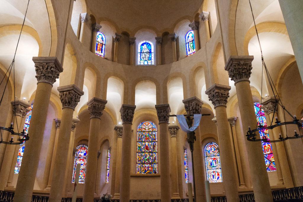Intérieur de la Basilique Notre-Dame du Port
