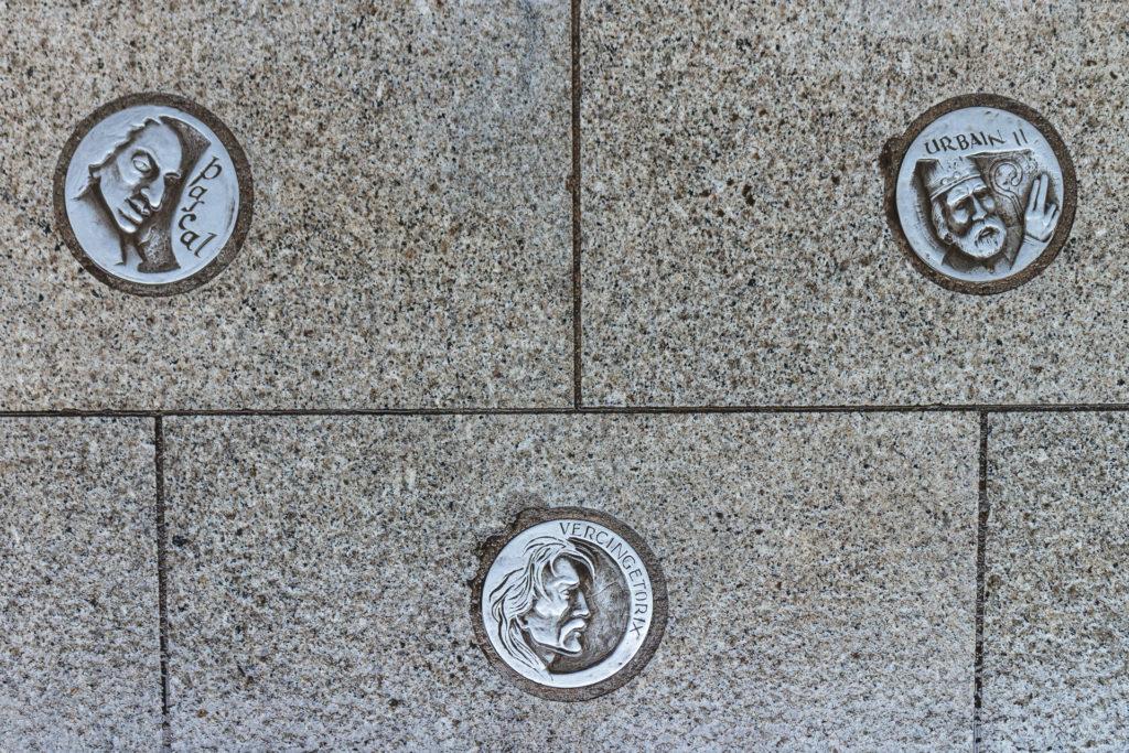 Plaques commémoratives, Clermont-Ferrand