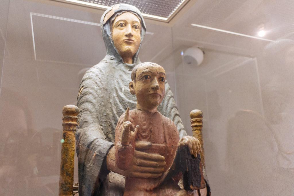 Vierge en majesté, Musée d'Art Roger-Quillot, Clermont-Ferrand