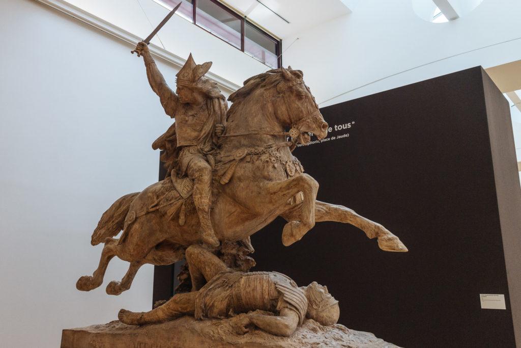 Plâtre de la statue de Vercingétorix, Musée d'Art Roger-Quill