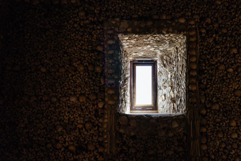 Capela dos Ossos, Evora, Alentejo