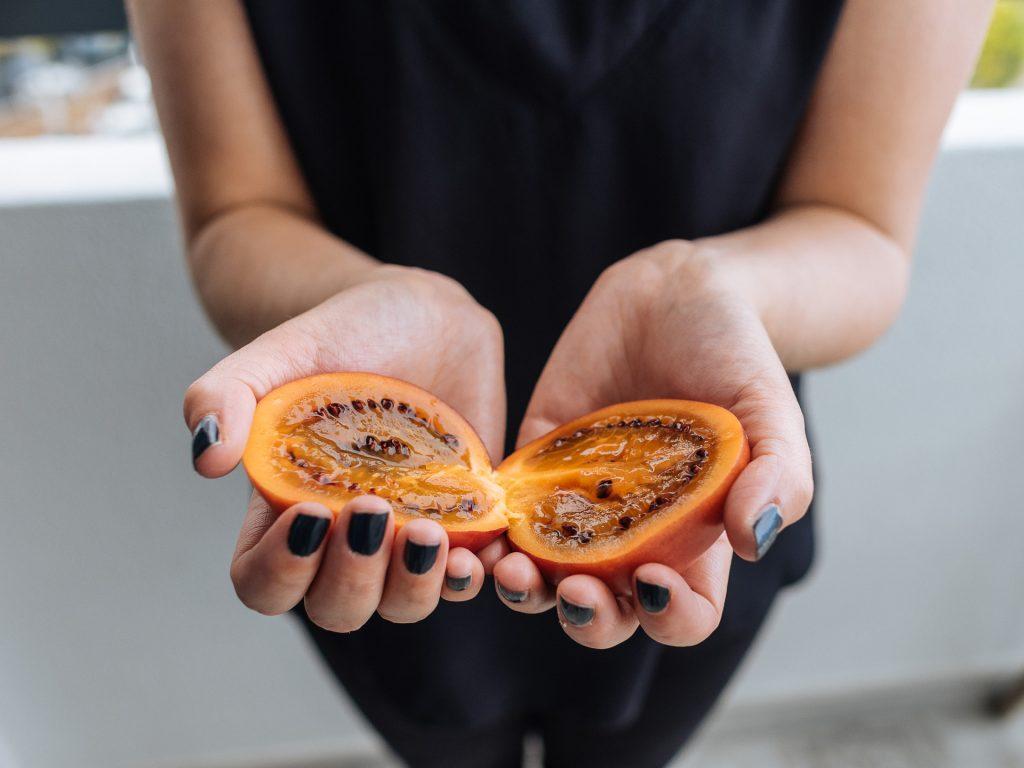 Tamarillo ou maracuja tomate, Madère