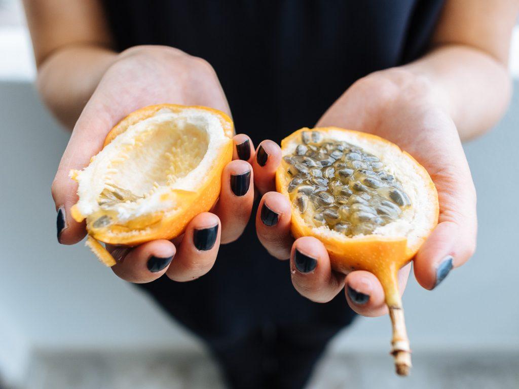 Pegadas Saborosas ou maracuja ananas, Madère