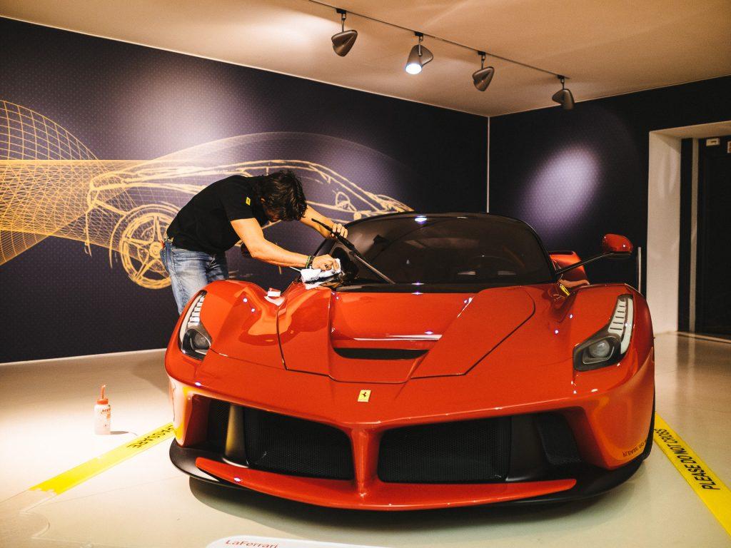 Entretien, Museo Ferrari Maranello