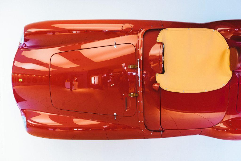 Upside down, Museo Ferrari Maranello