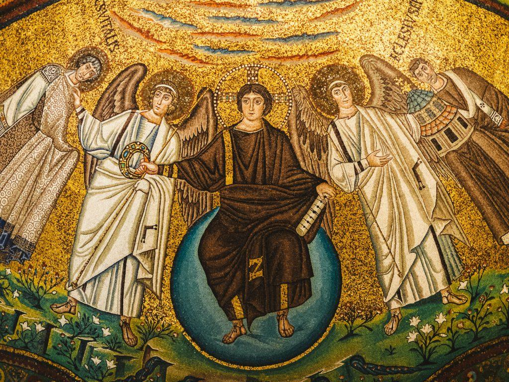 Mosaic, San Vitale basilisk, Ravenna