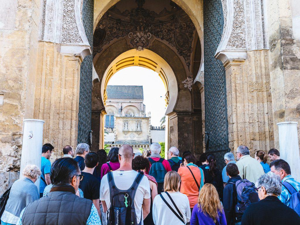 Files pour la visite de la Mezquita de Córdoba