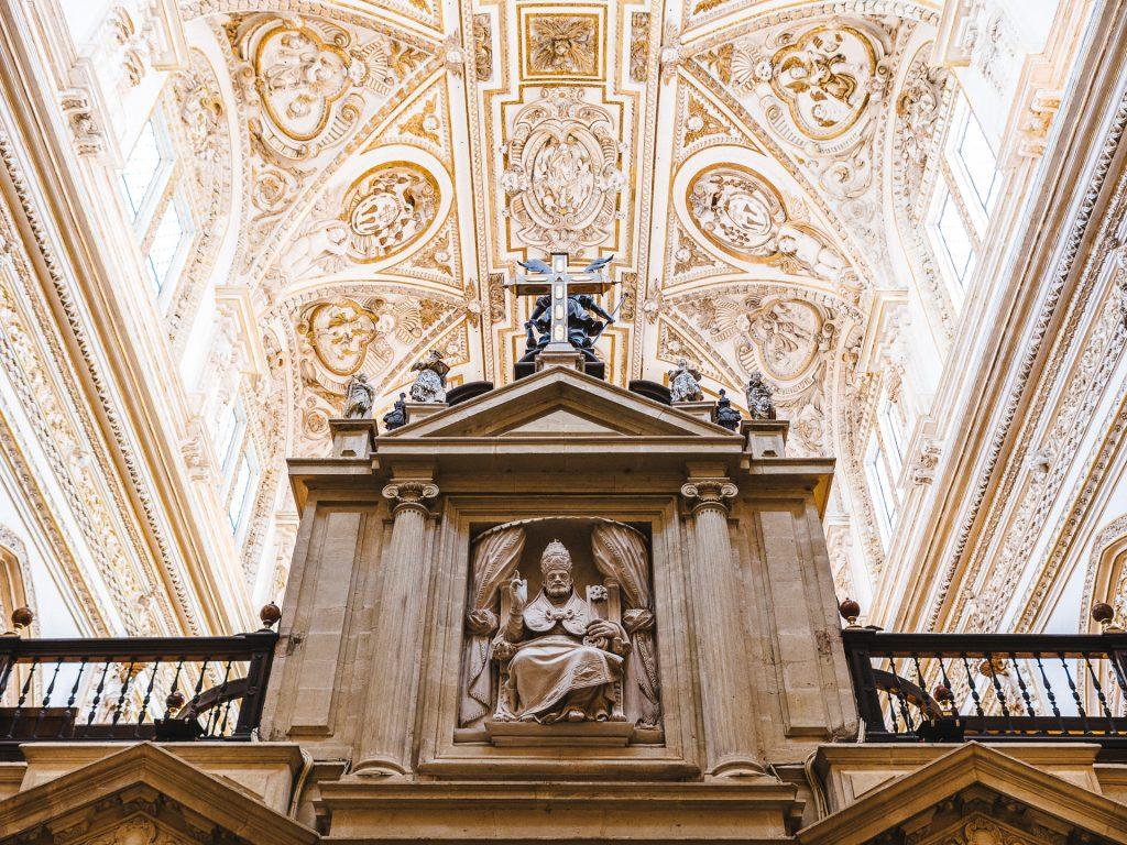 Partie catholique de la Mezquita de Córdoba