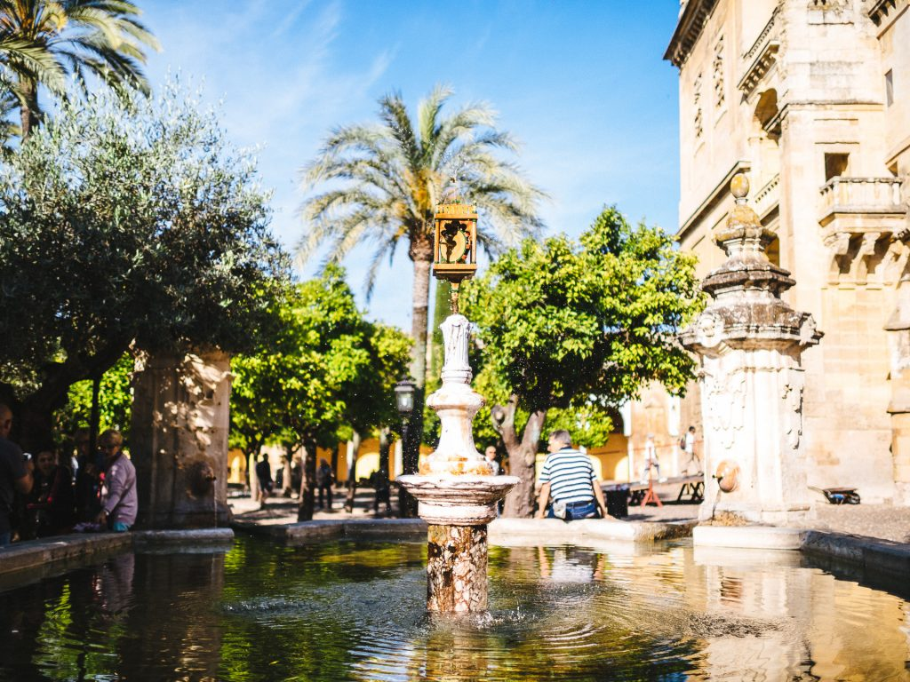 Fontaine, La Mezquita de Córdoba