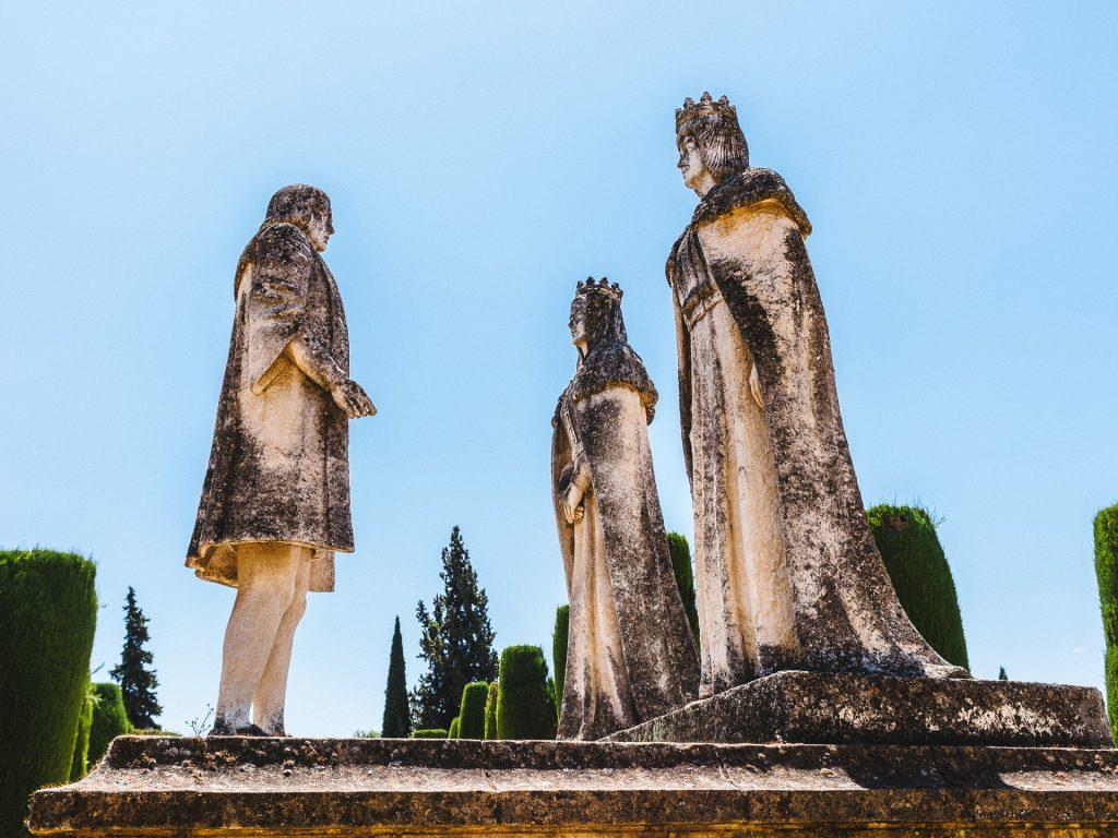 Monument à Christophe Colomb, Alcazar de Córdoba