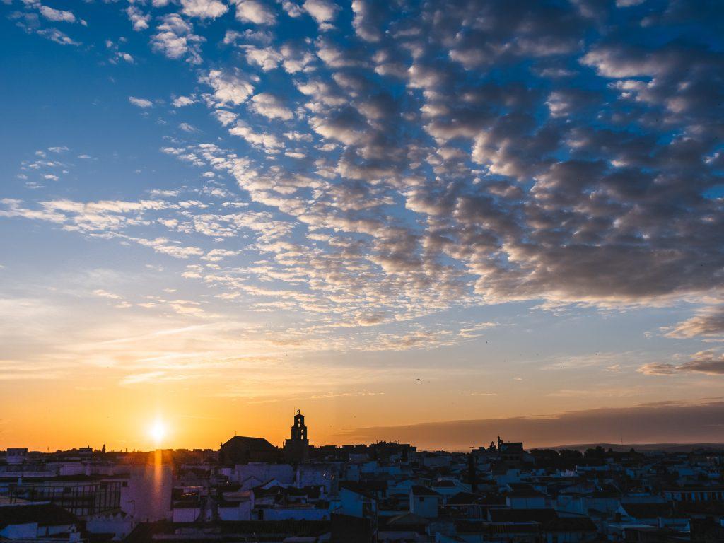 Córdoba au lever du soleil
