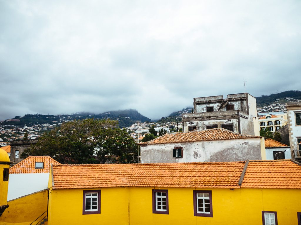 Funchal from Forte