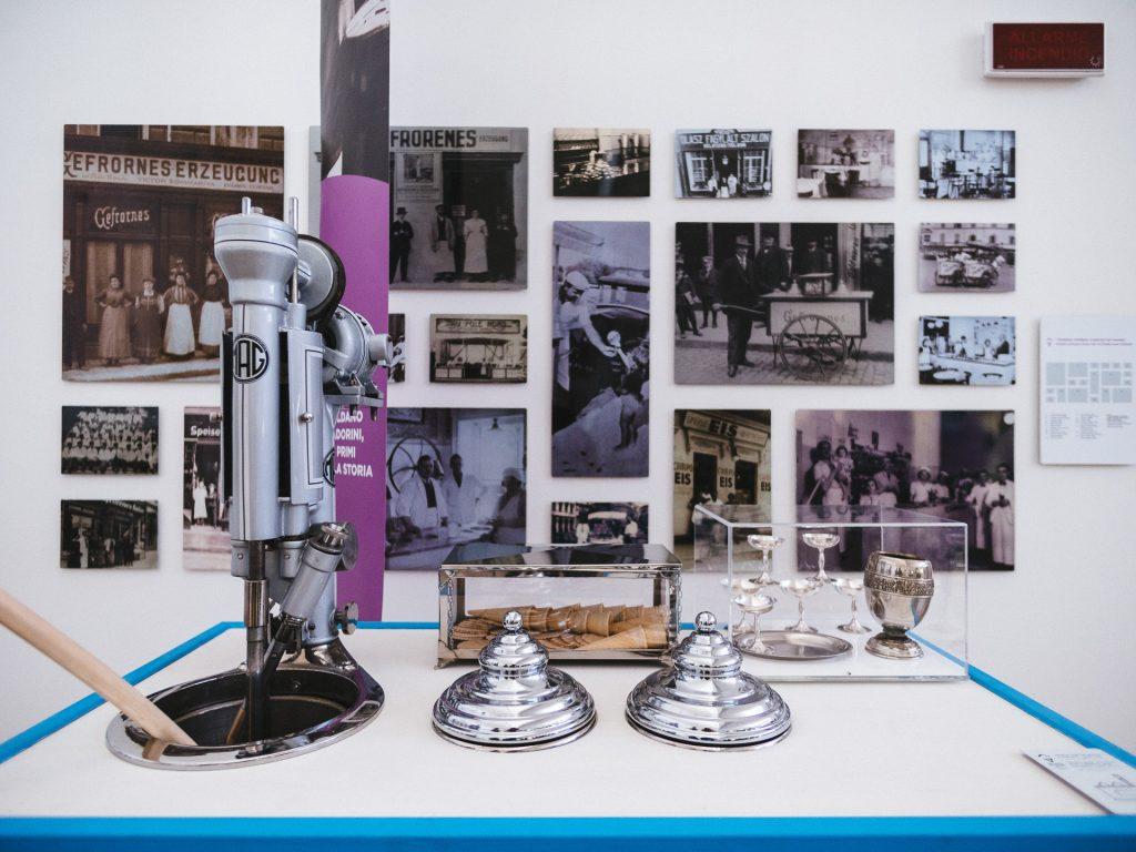 Old gelato cart, Carpigiani Gelato Museum