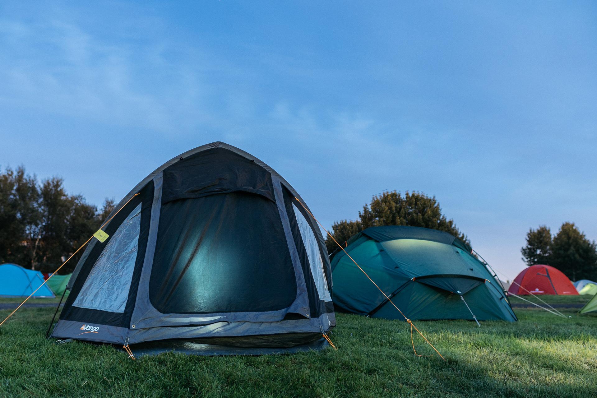 Camper En Septembre En Islande