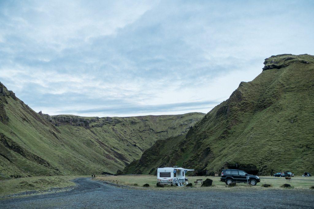 Þakgil campsite