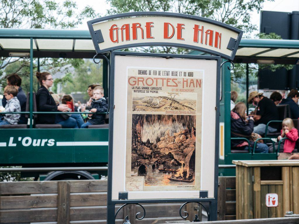 Gare de Han, Domaine des Grottes de Han