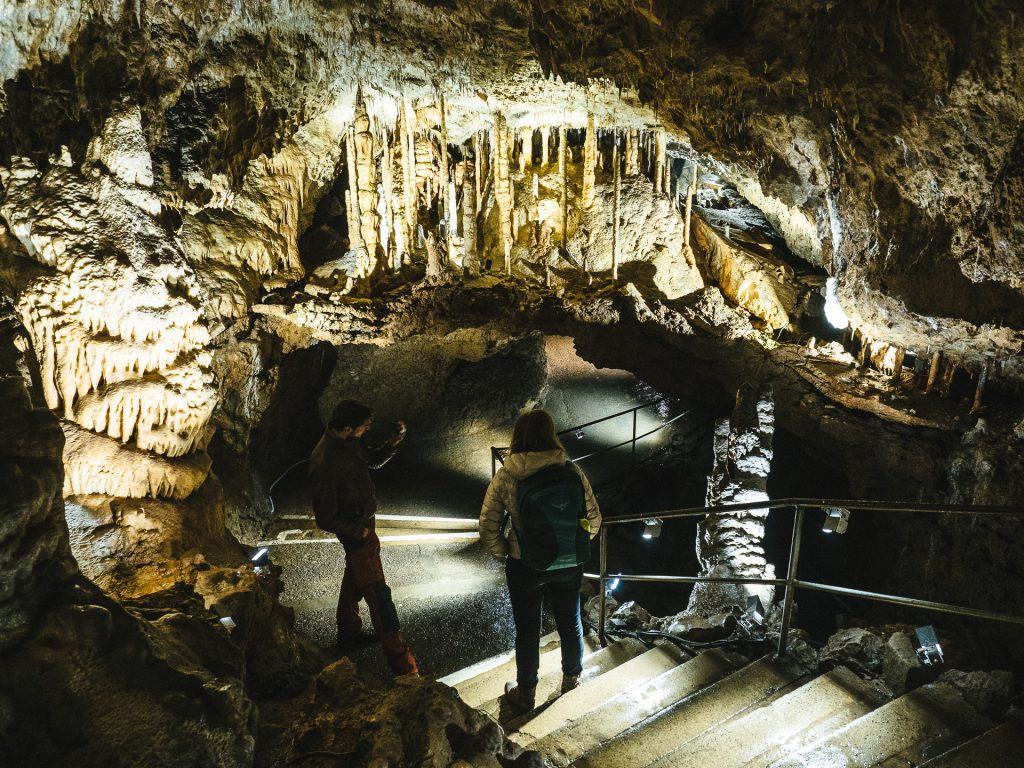 Visite des Grottes de Han