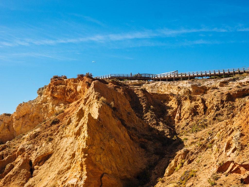 Falaises à l'ouest de l'Algarve