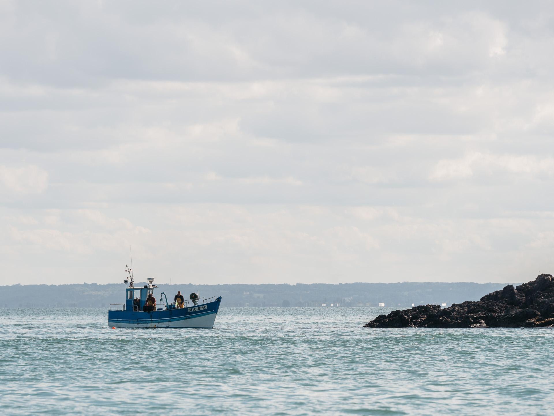 promenade bateau cancale