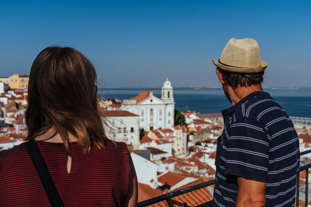 Visiter Lisbonne Pied Cest Du Sport Surtout Sous Les Tempratures Extrmes De Ce Mois Juin Mais Pour Moi La Meilleure Manire Prendre Le