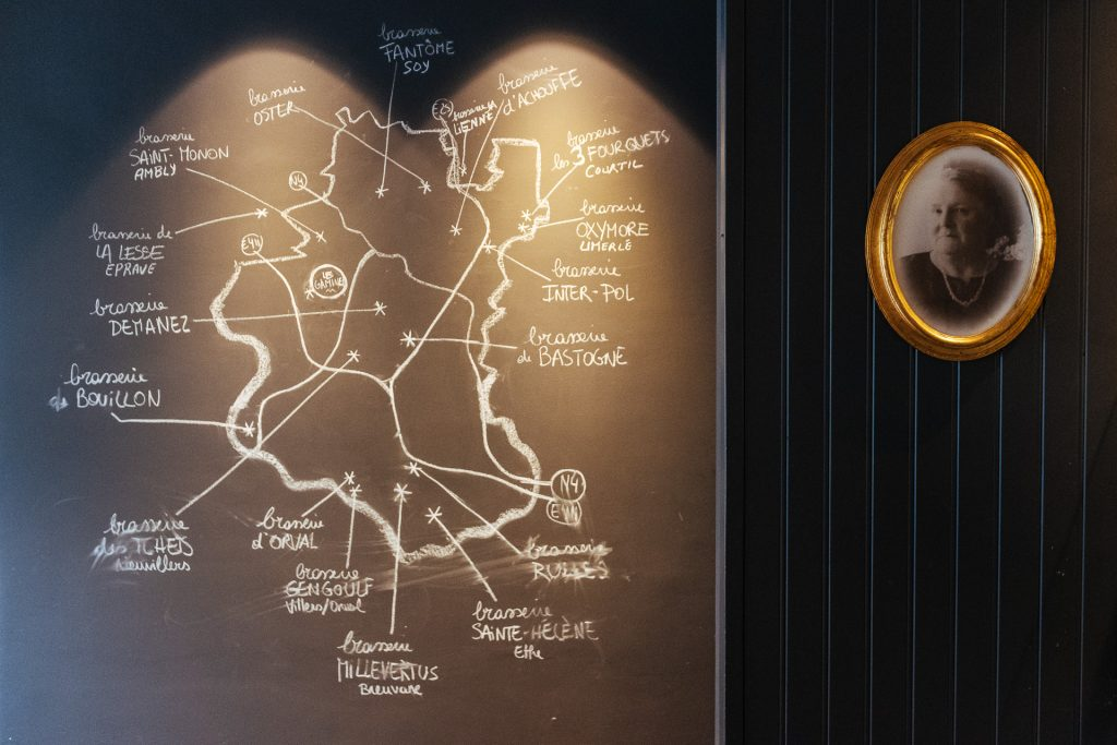 Cartes des micro-brasseries de la région, Brasserie restaurant Les Gamines