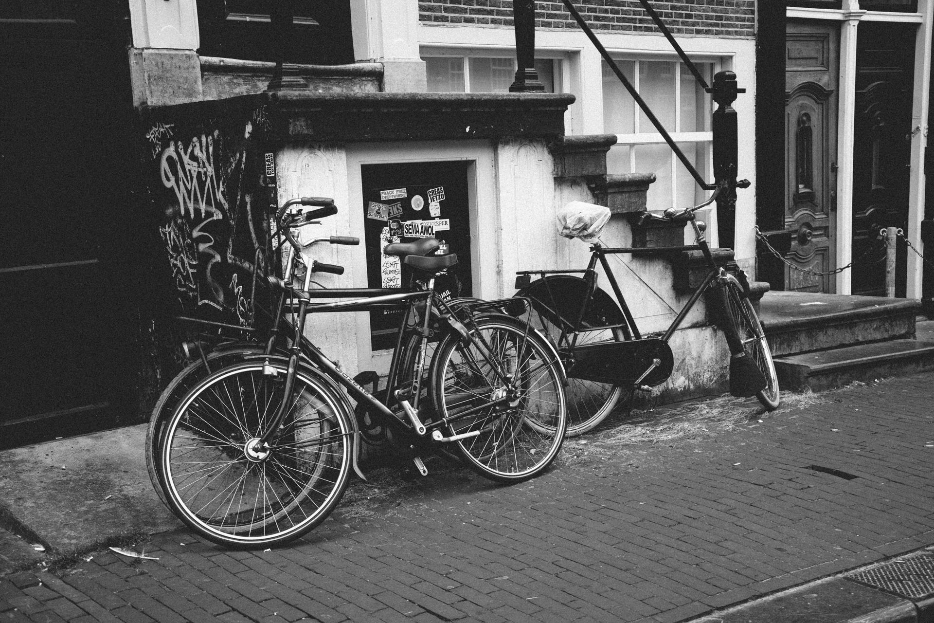 Amsterdam et ses nombreux vélos
