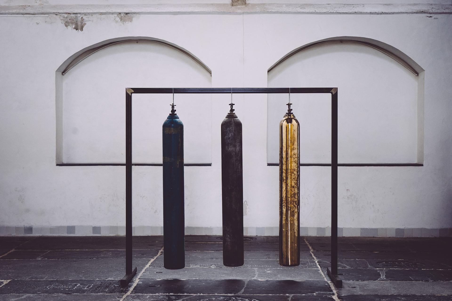 Seconde installation artistique dans la Oude Kerk