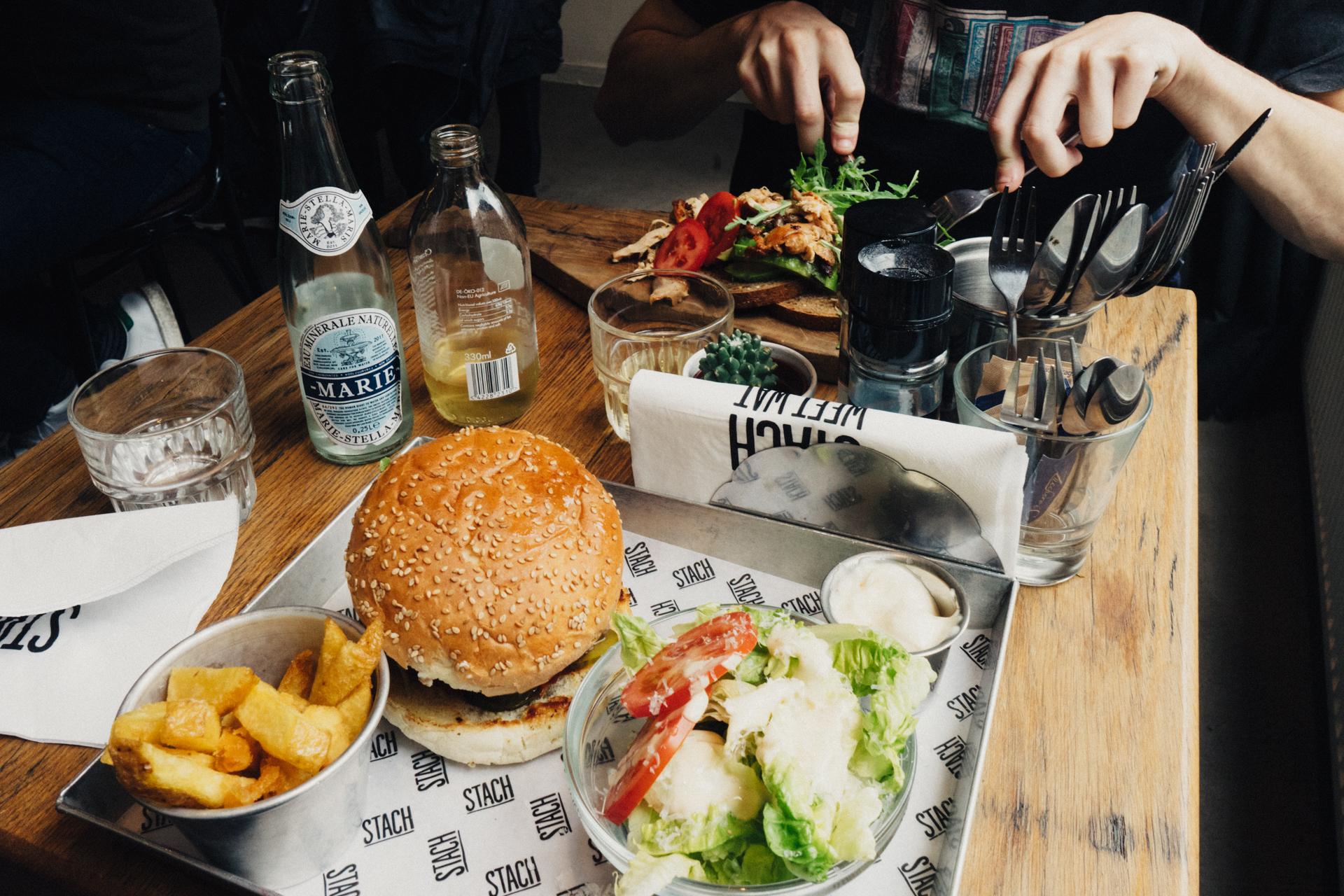 Lunch au Stach Café