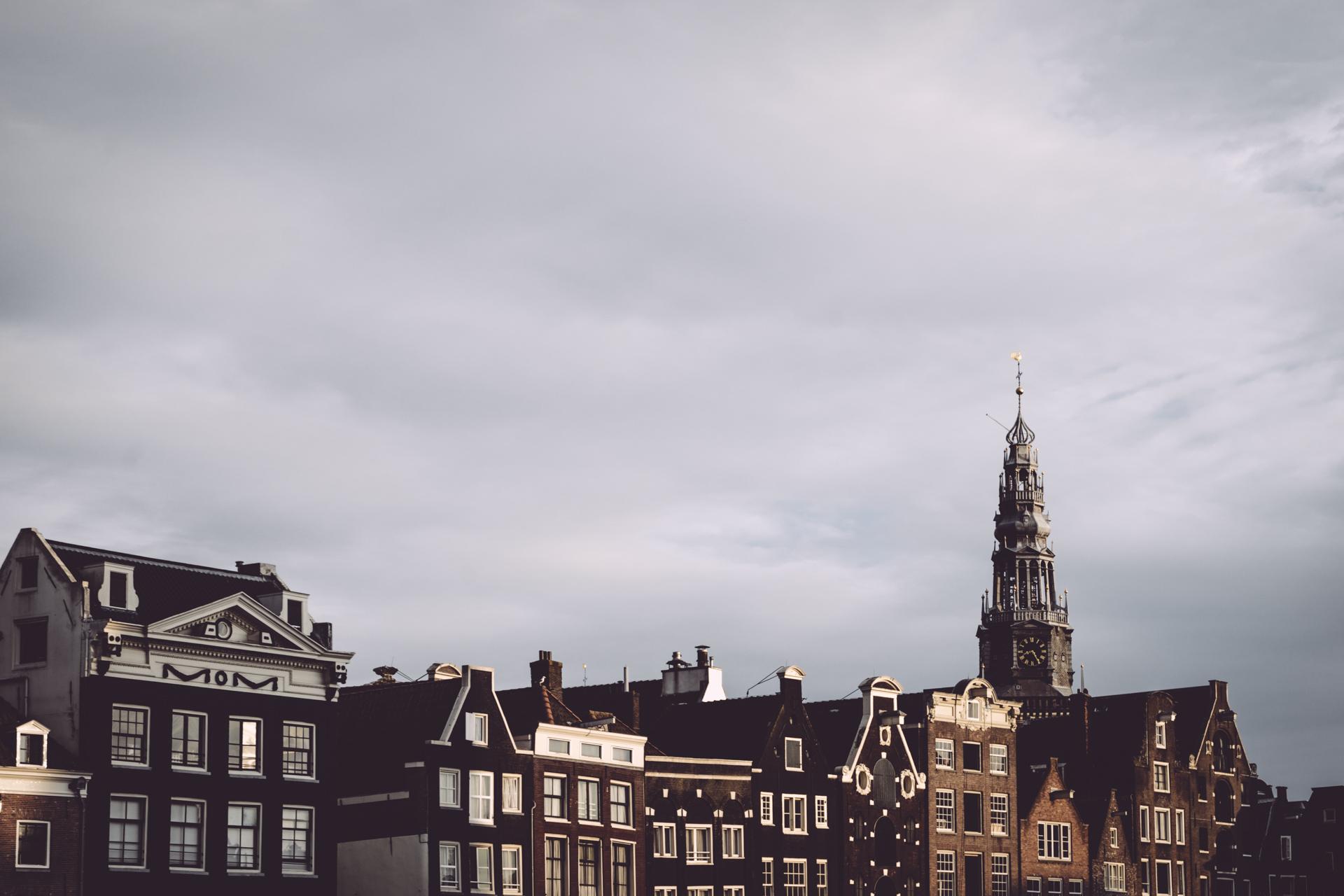 Les toits d'Amsterdam
