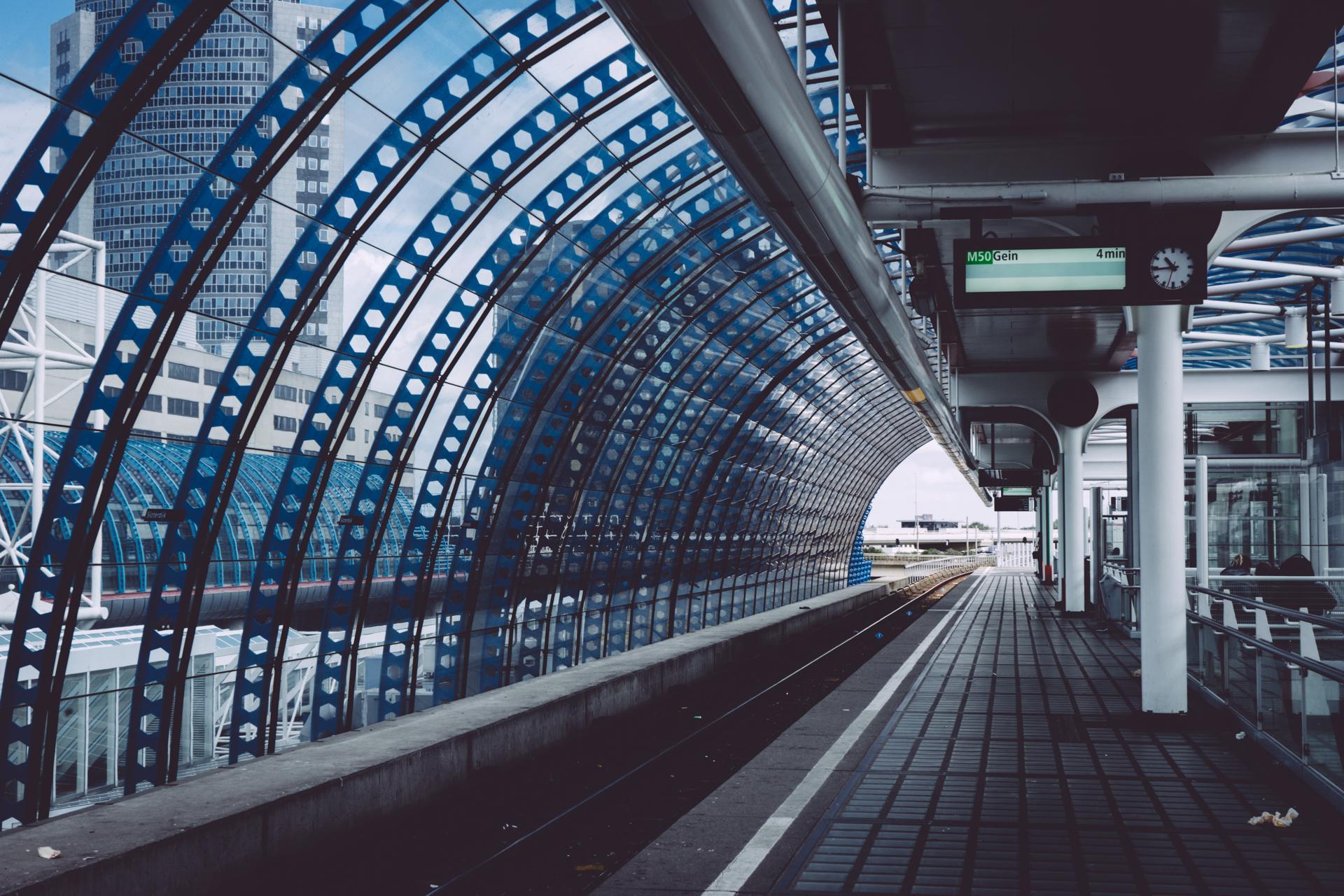 La gare Amsterdam – Sloterdijk