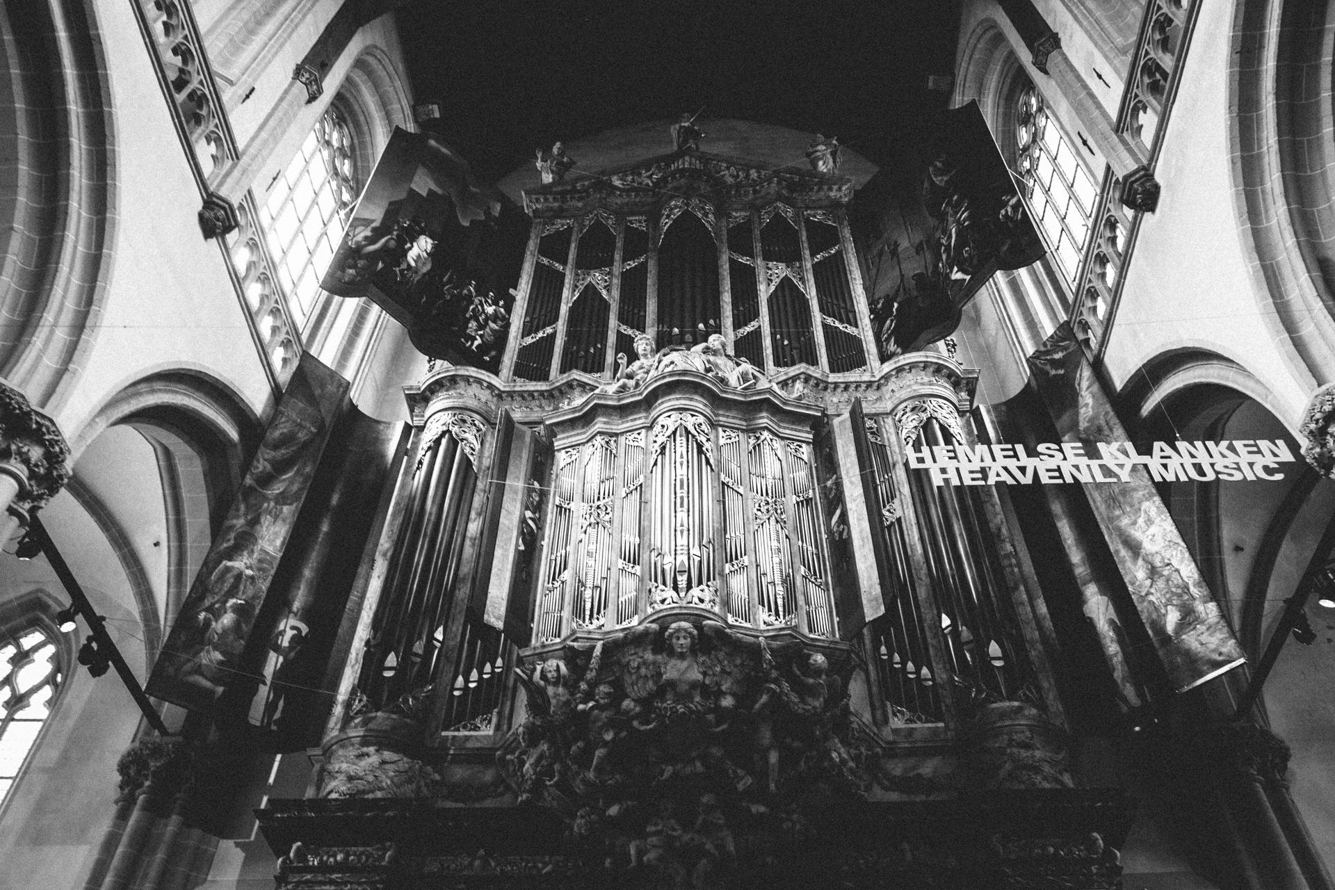 L'orgue de la Nieuwe Kerk d'Amsterdam