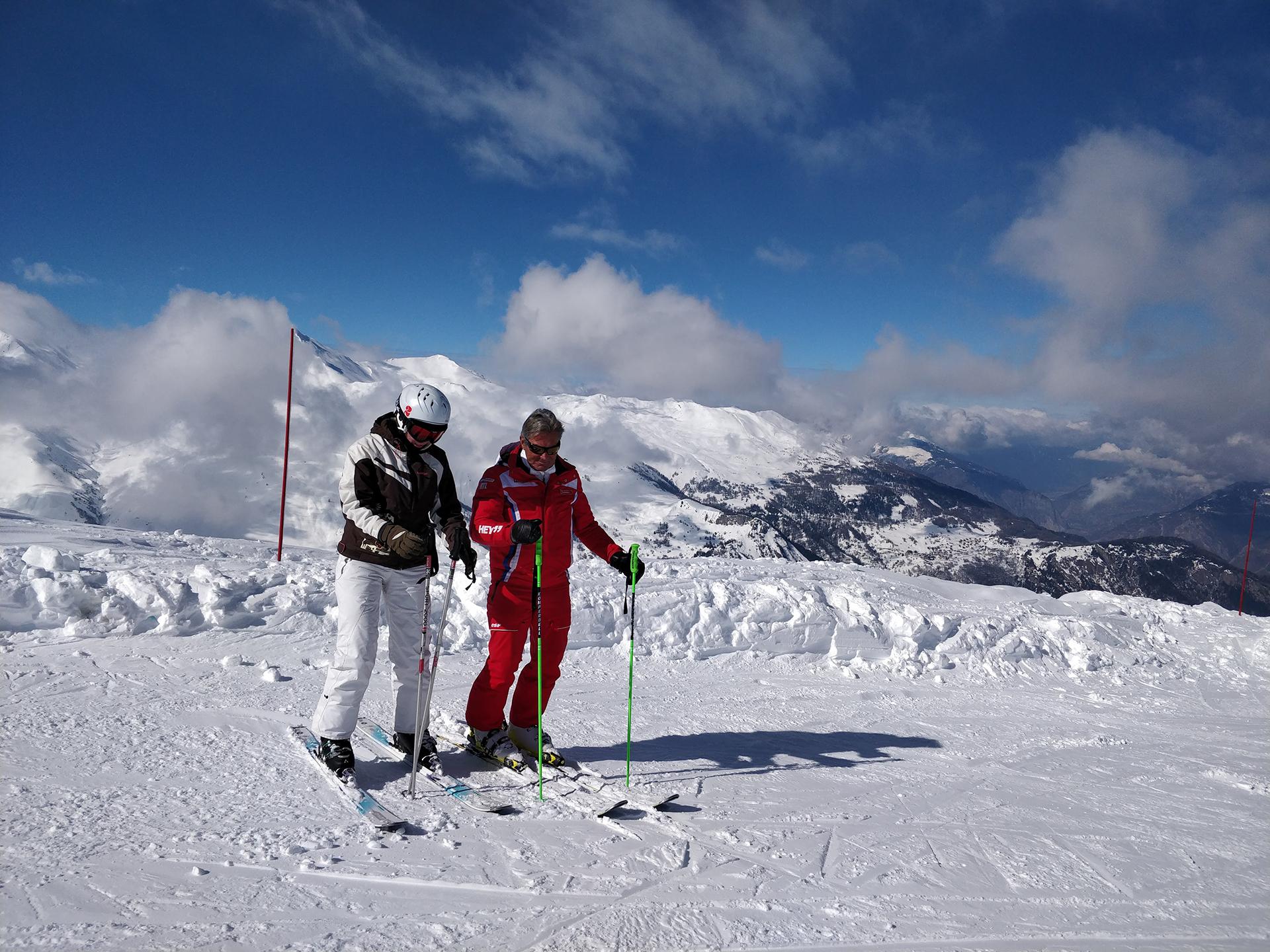 Domi, notre moniteur de ski ESF