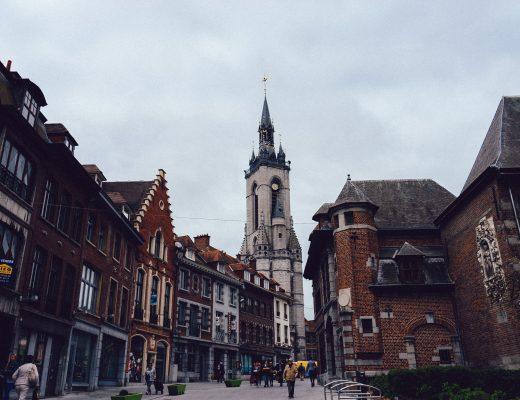 Le beffroi de la ville de Tournai
