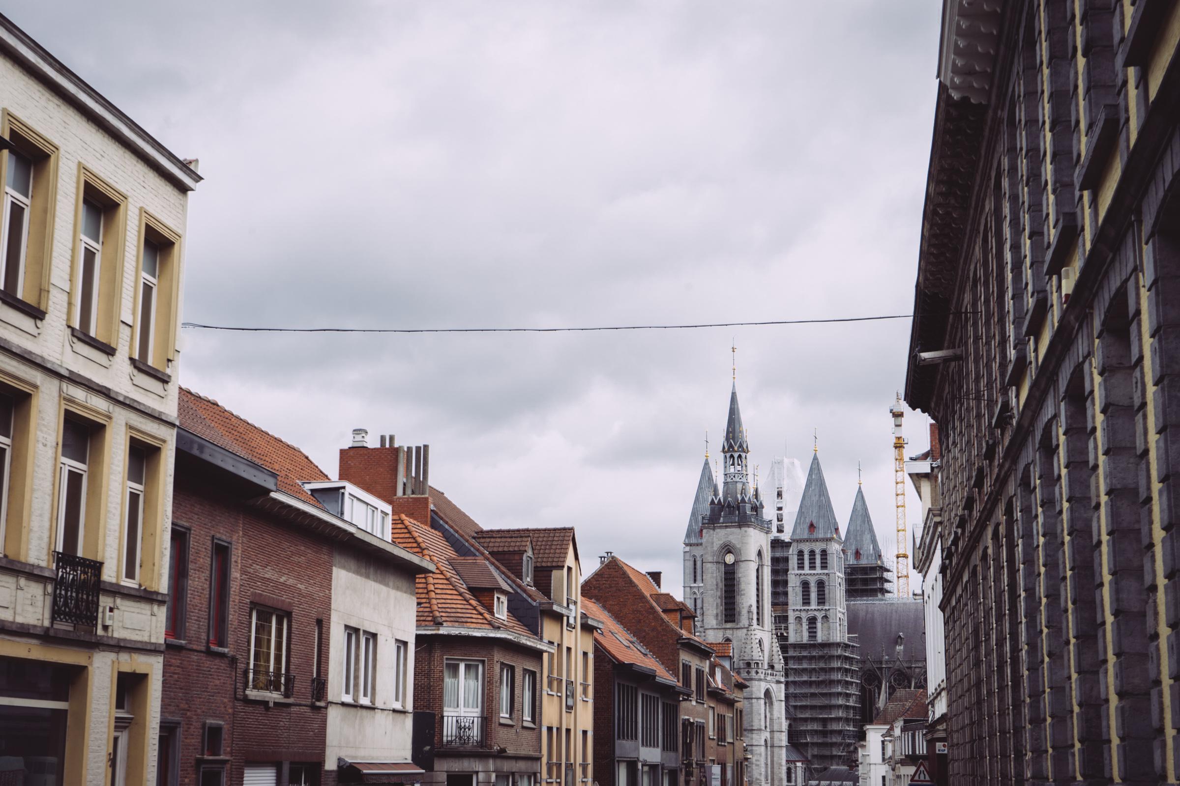 La cathédrale Notre Dame de Tournai