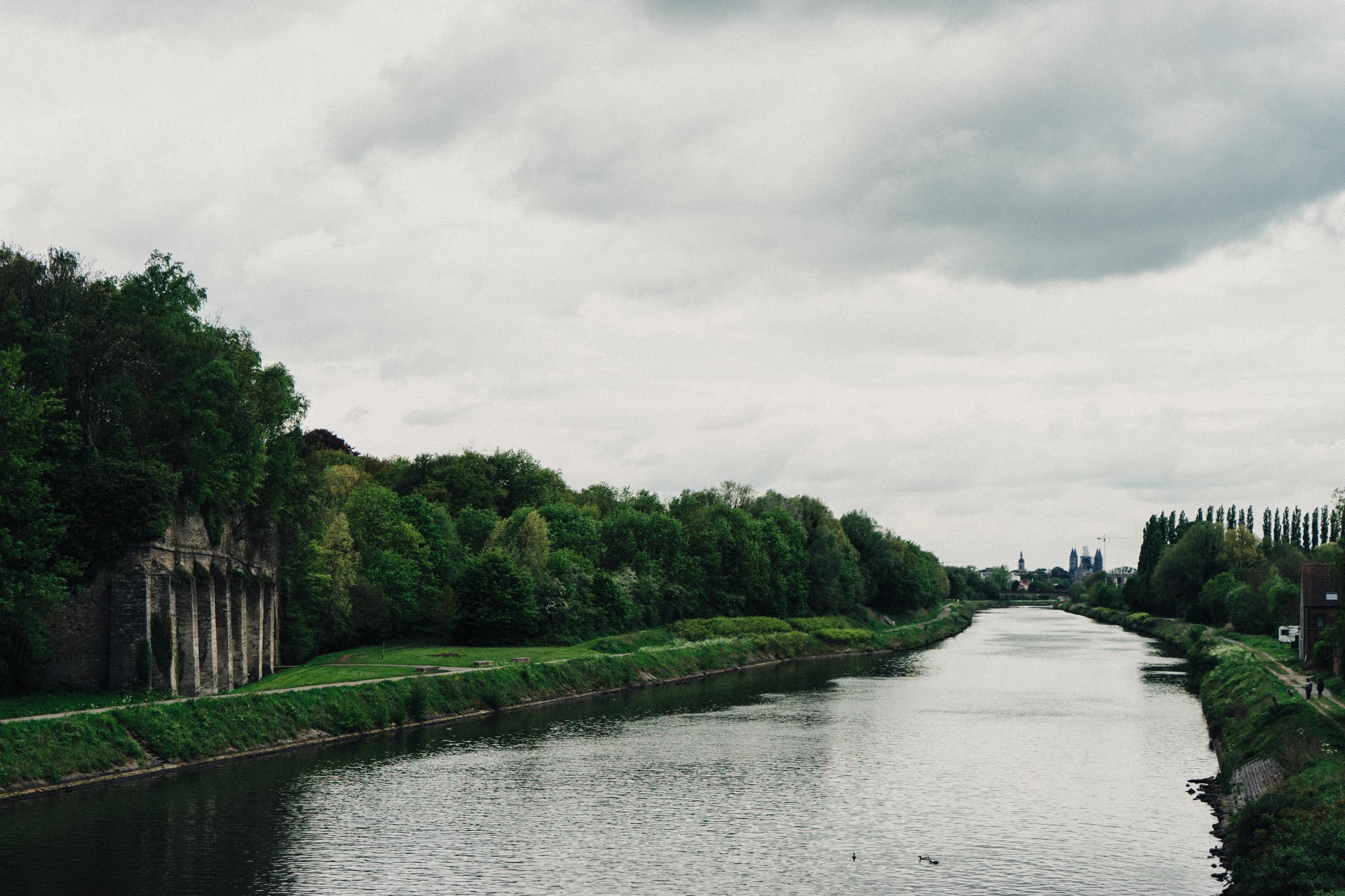 Vue de la ville de Tournai