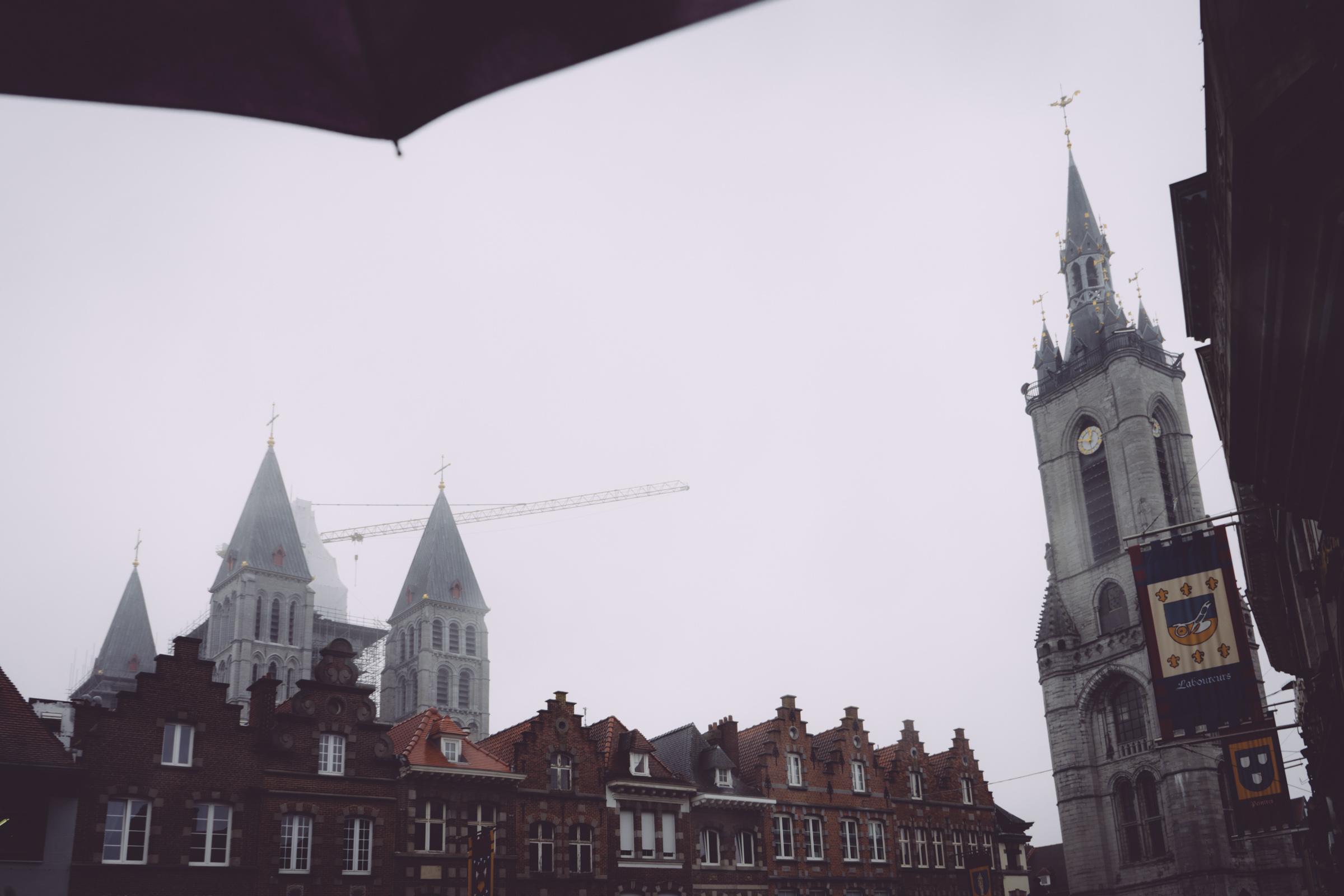 Le Beffroi et la Cathédrale Notre Dame de Tournai