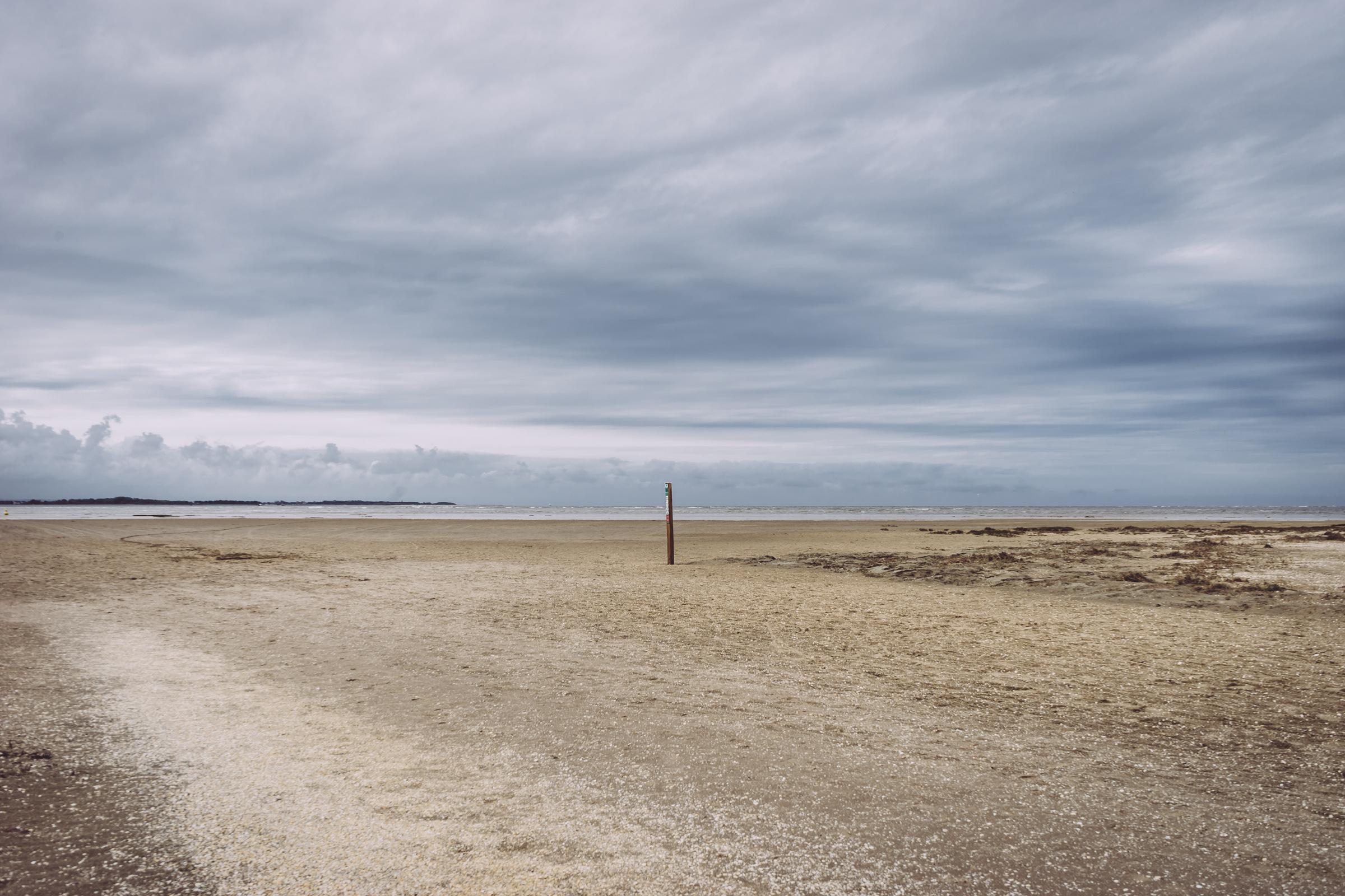 Paysage sablonneux de Baie de Somme