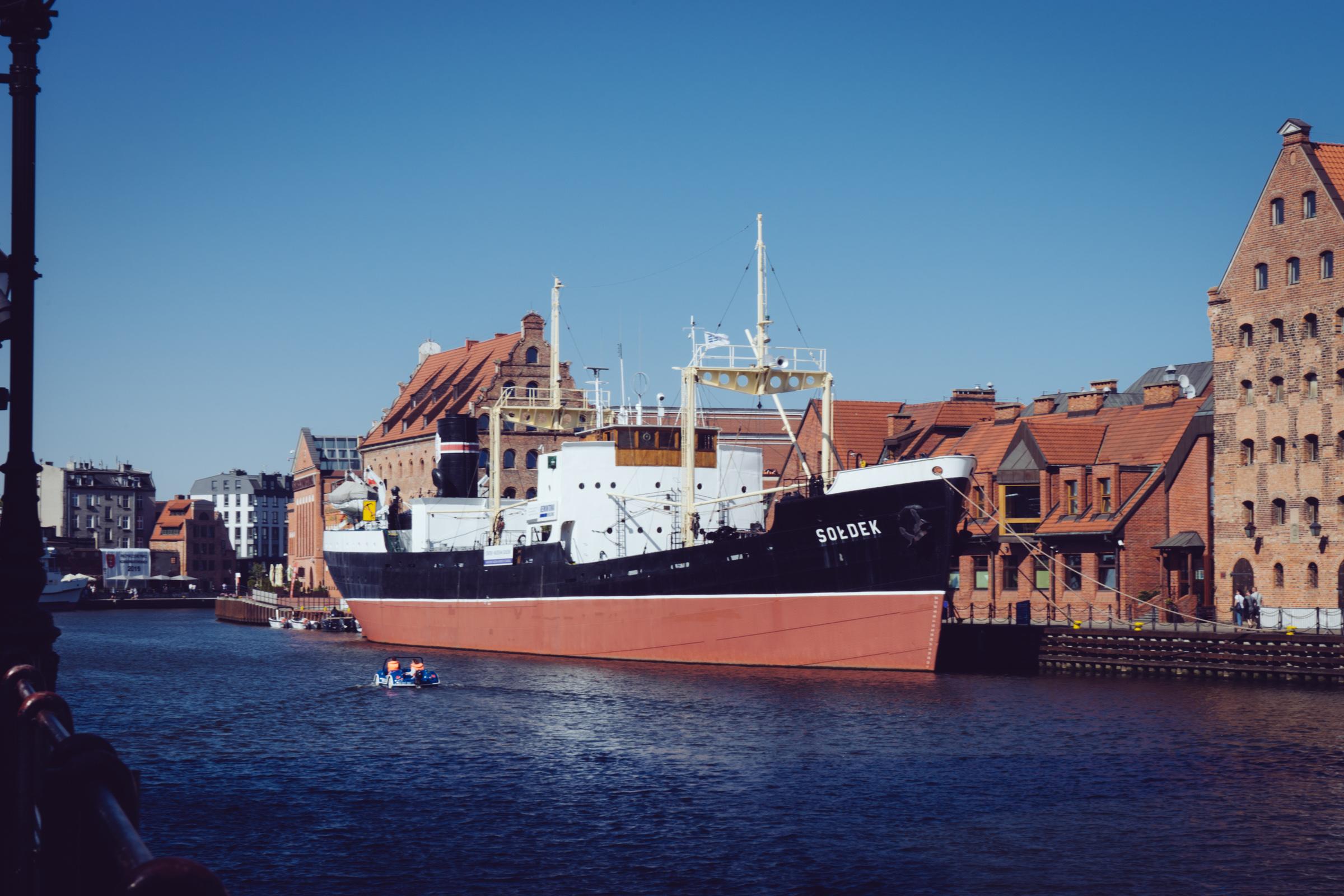 Le navire SS Soldek - Gdansk - Pologne