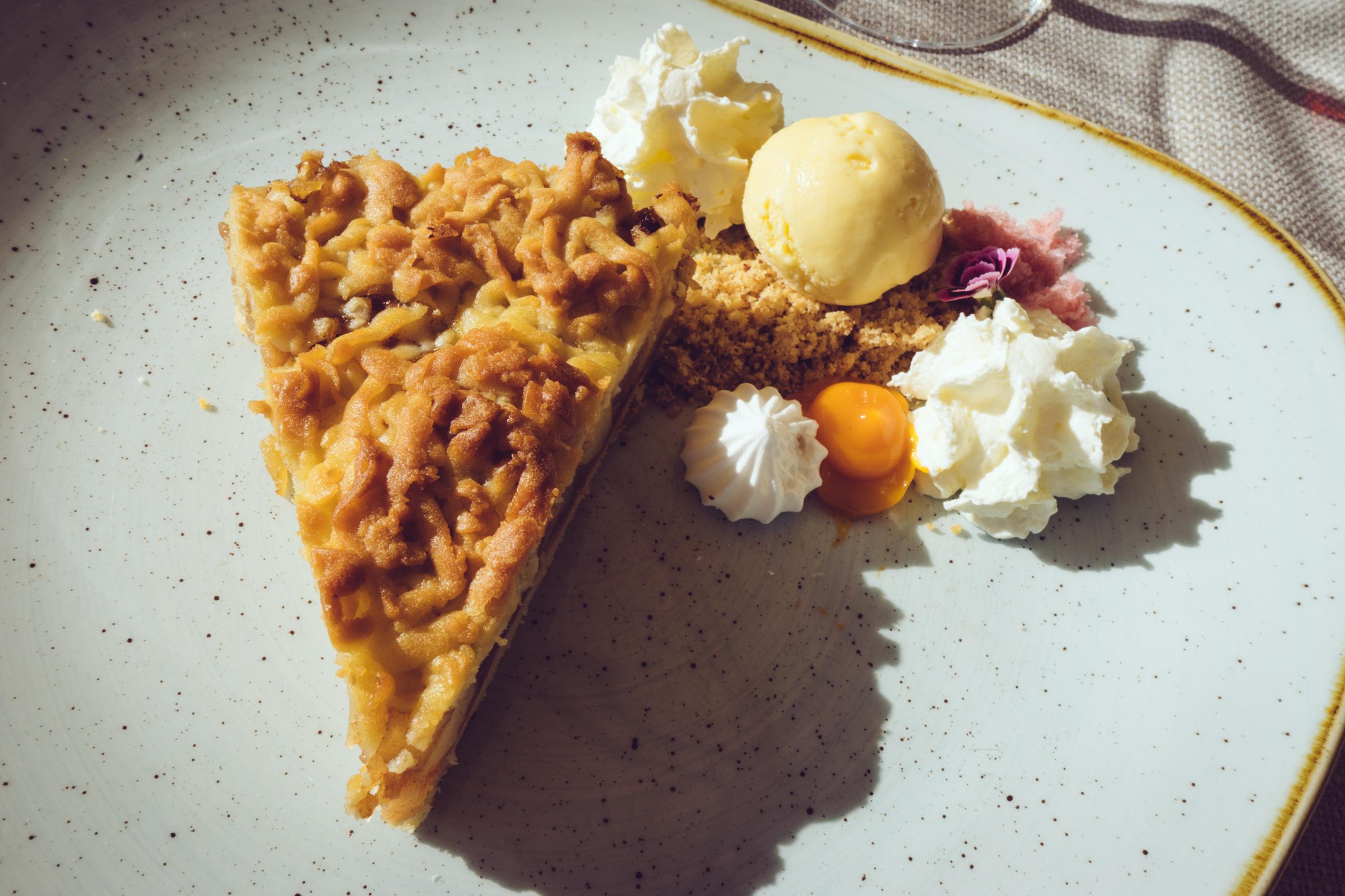 Le dessert au restaurant Kubicki de Gdansk - Pologne