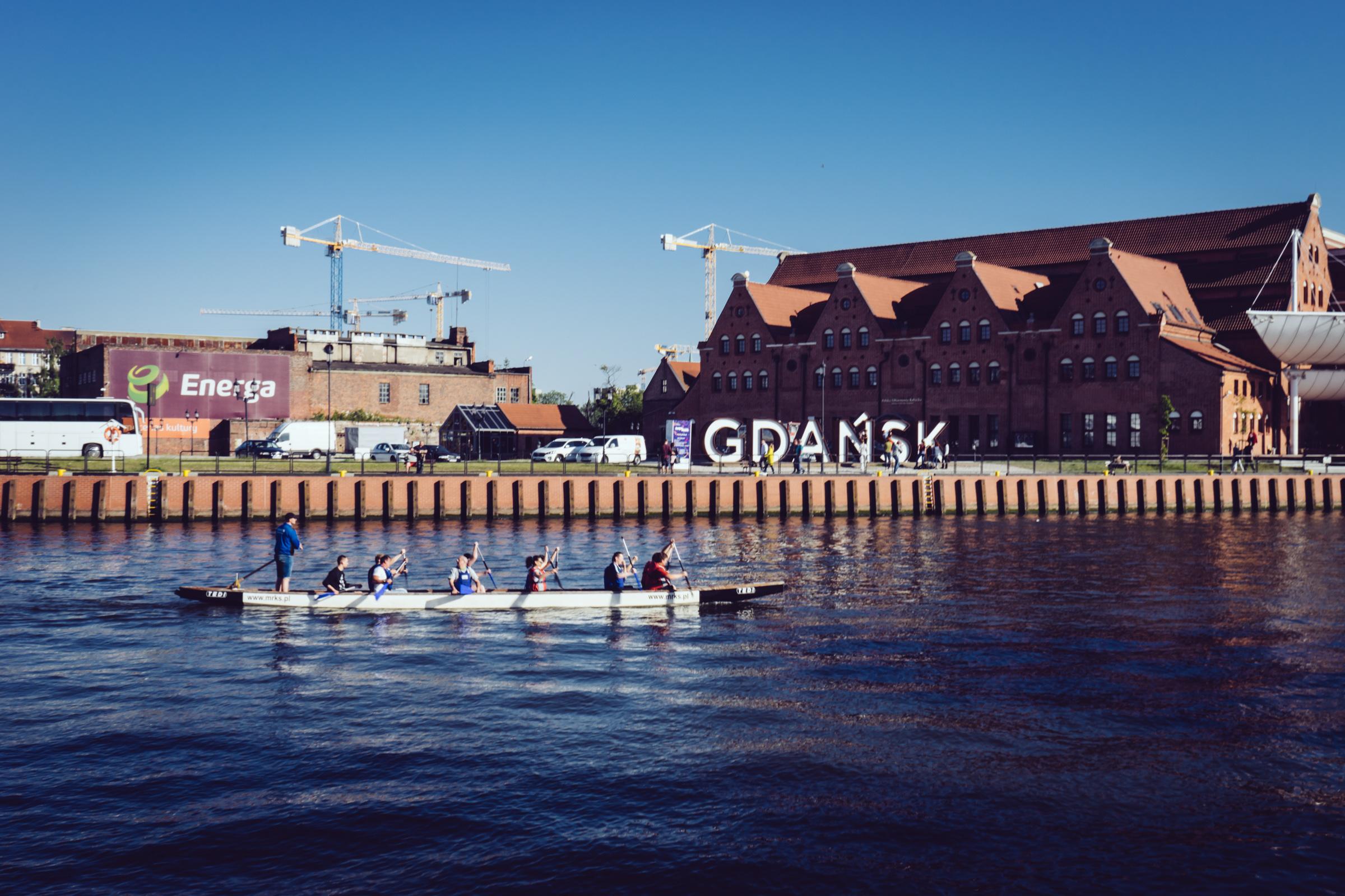 La ville de Gdansk - Poméranie - Pologne