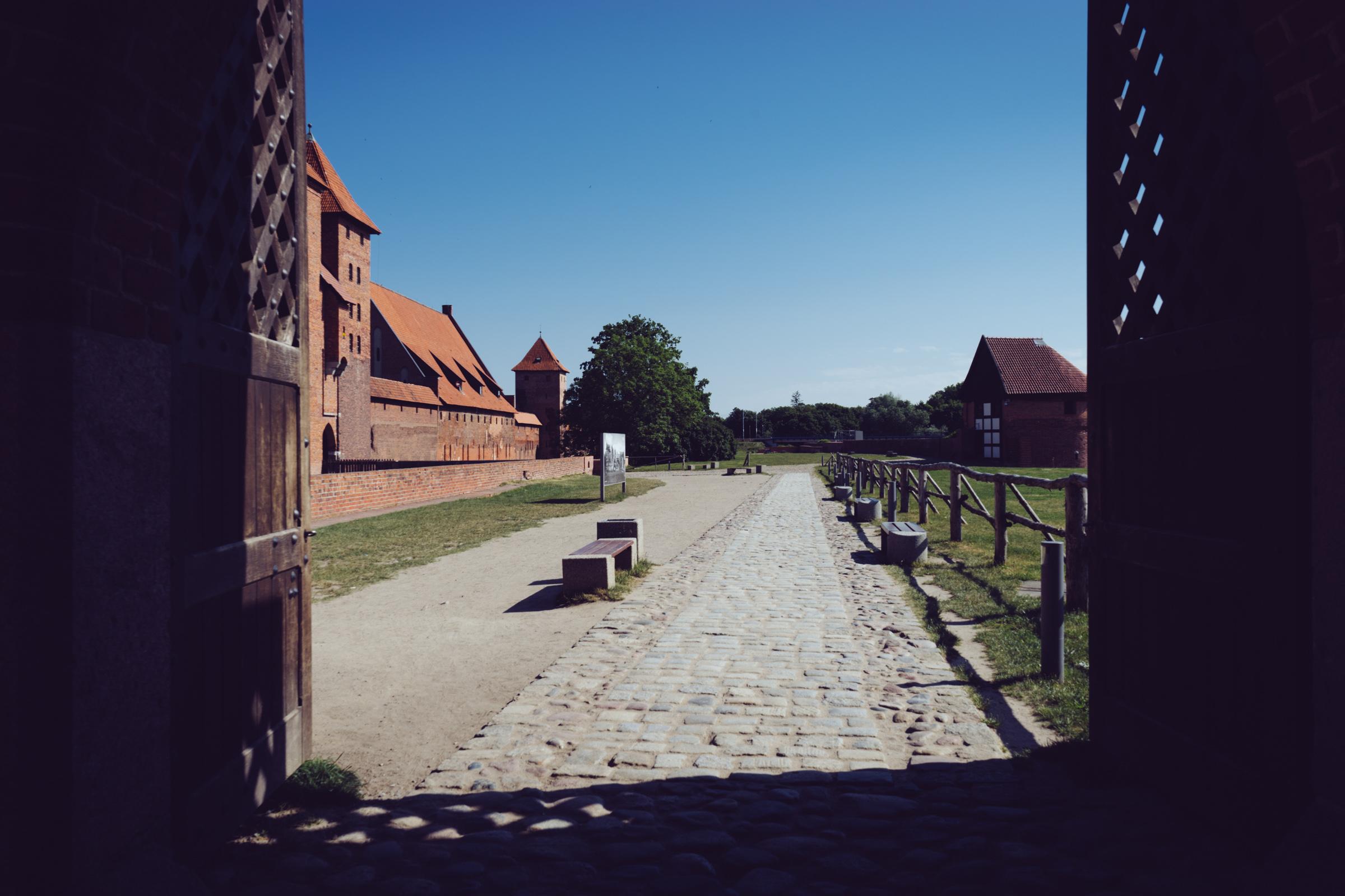 Le château fortifié de Malbork - Pologne