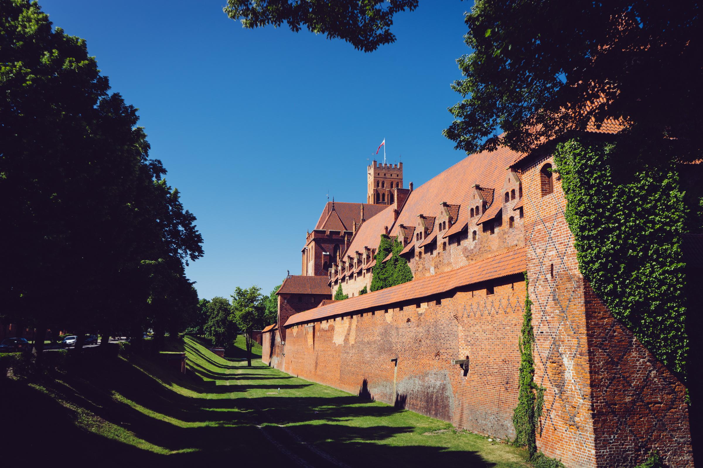 La forteresse teutonique de Marienbourg