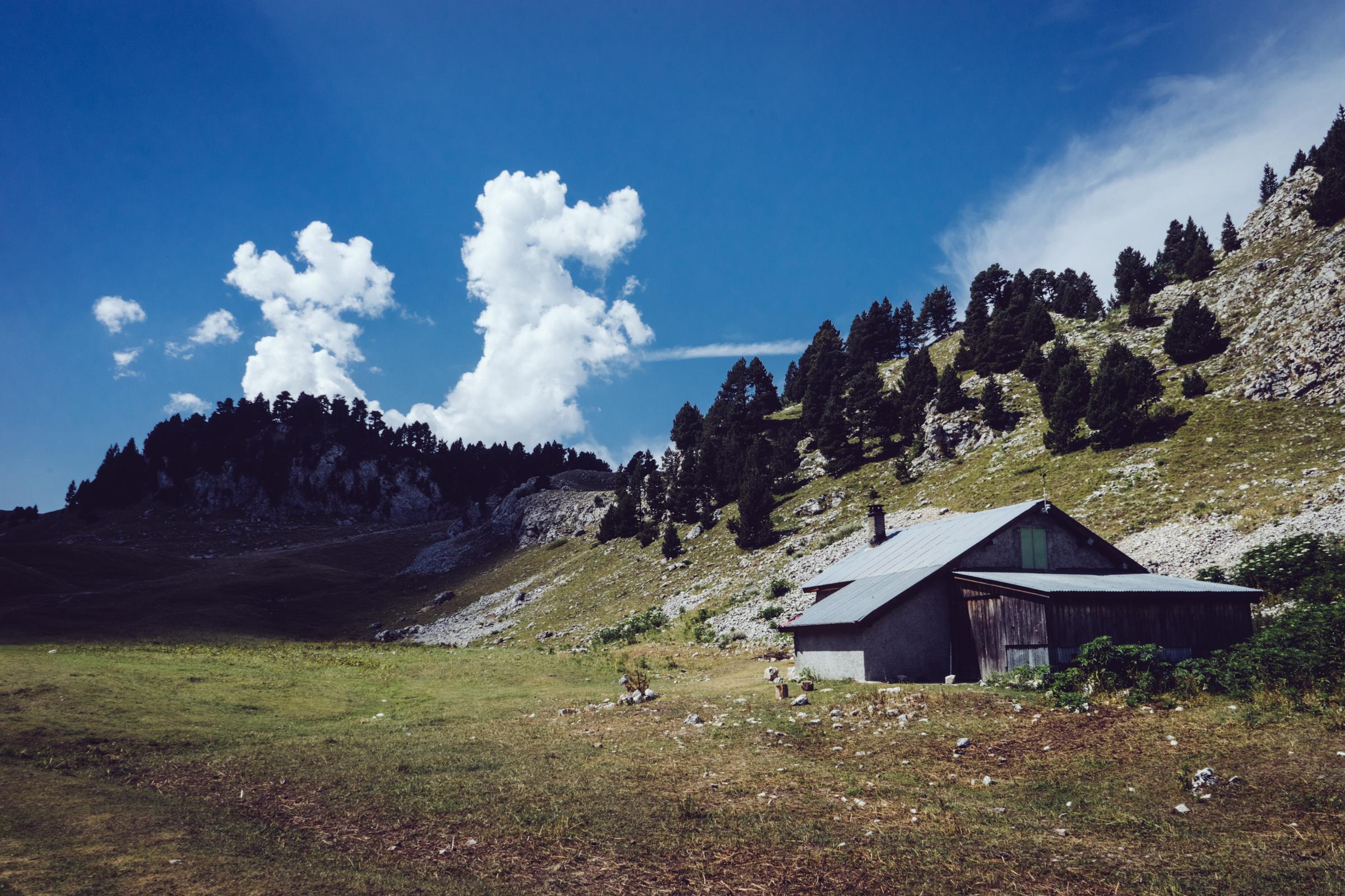 La bergerie des Chaumailloux - Vercors - Chichilianne