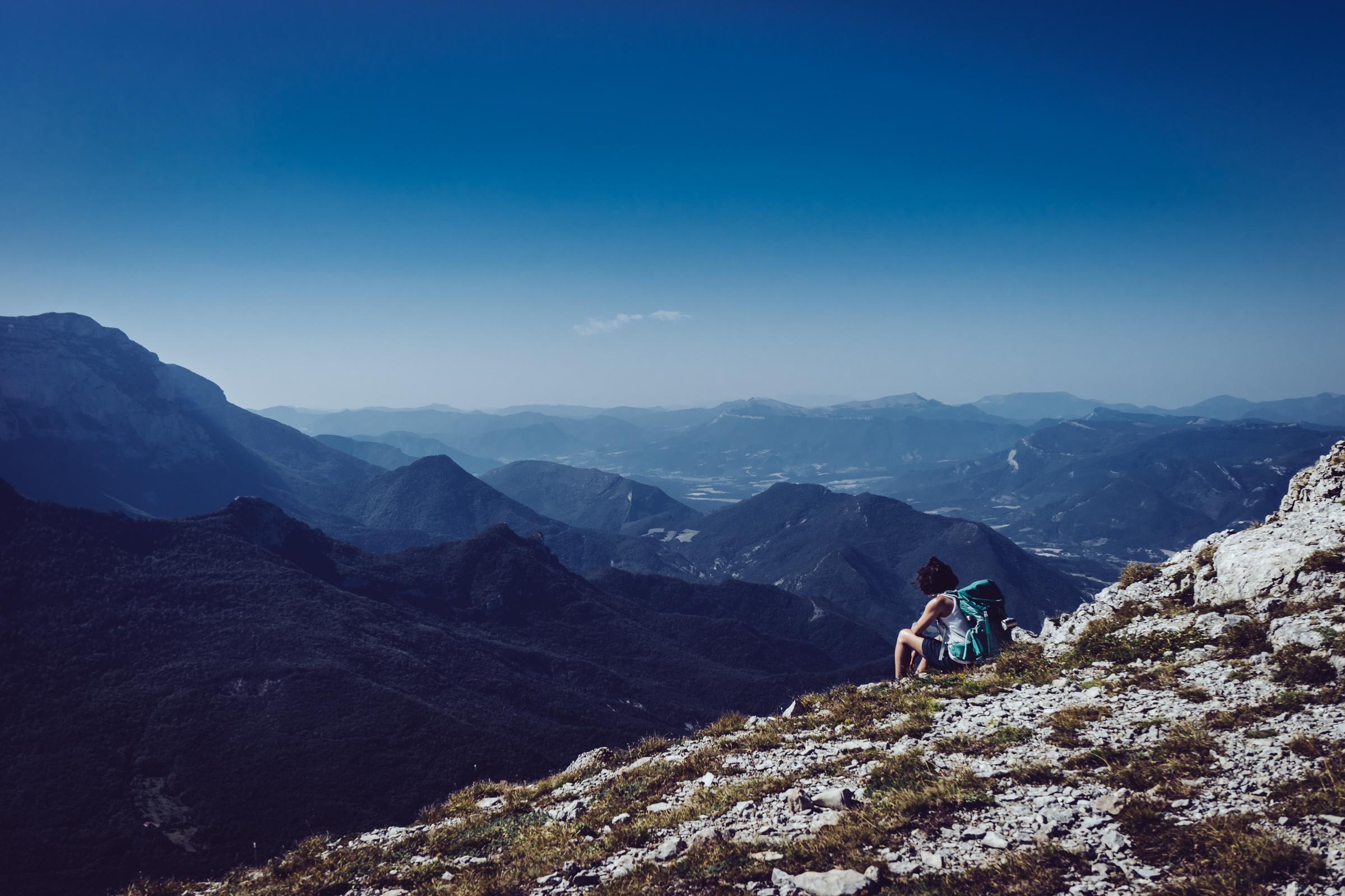 Randonnée sur les hauts plateaux du Vercors - Paysage