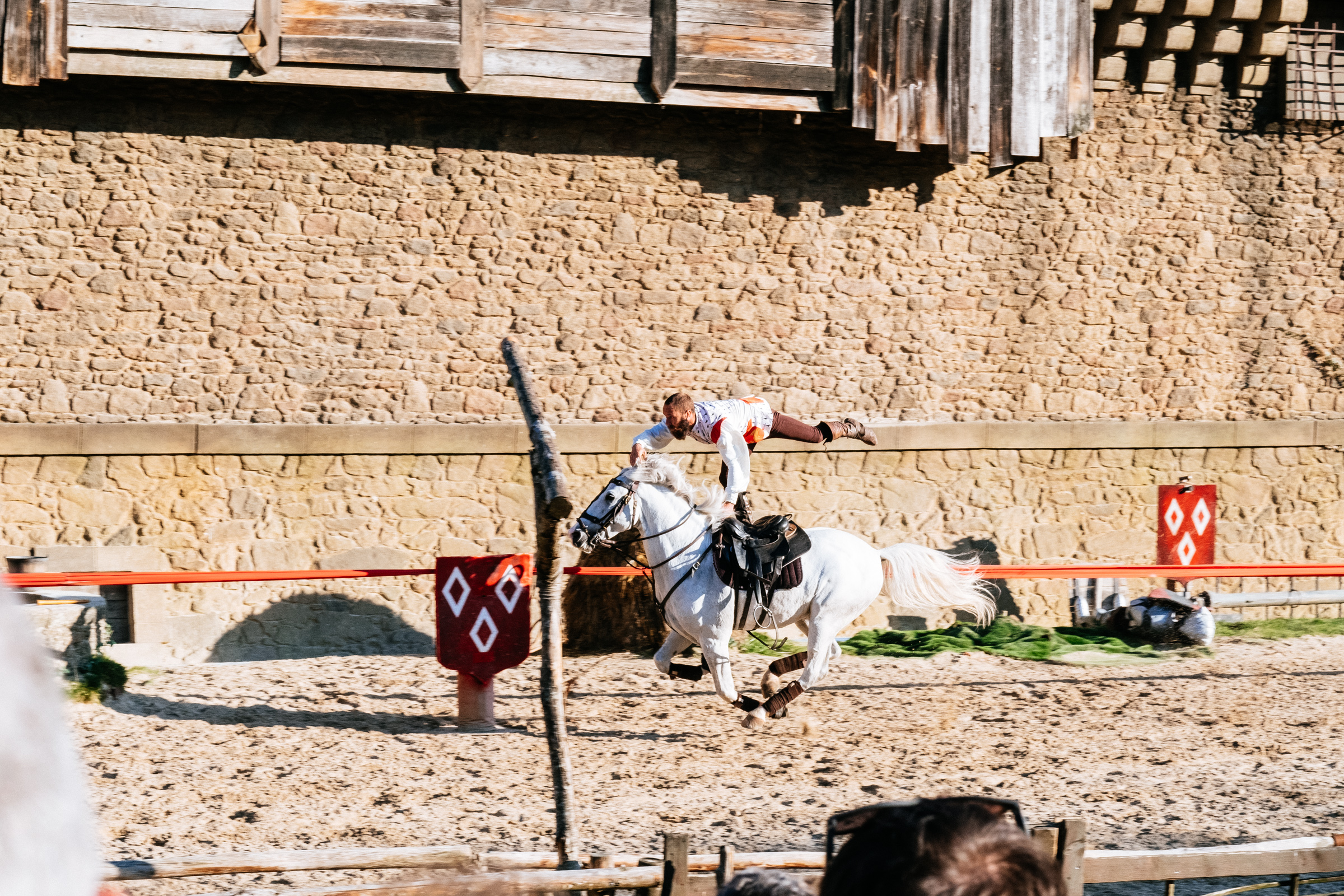Puy du Fou - France - Le Secret de la Lance - Spectacle équestre - Chevaux