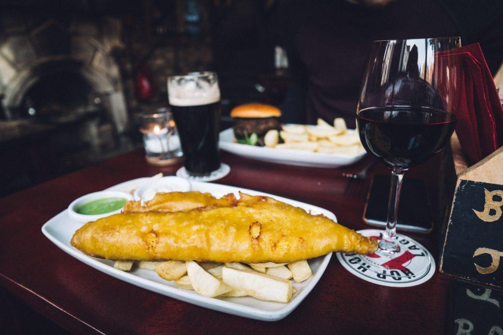 Fish and Chips - Arthur's Pub - Dublin - Irlande