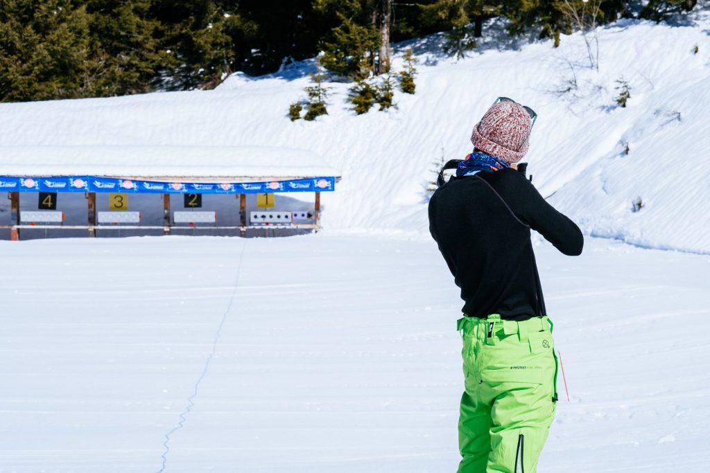 Les Saisies - France - Savoie Mont-Blanc - Montagne - Biathlon