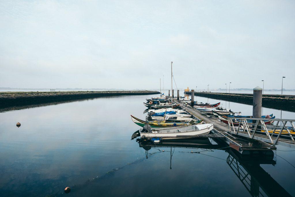 Portugal - Cais da Bestida (Quai de Bestida) - Murtosa