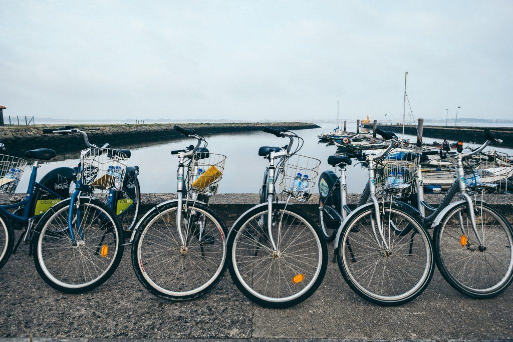 Portugal - Cais da Bestida (Quai de Bestida) - Murtosa - Vélos